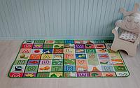 Детский термо-коврик каремат игровой развивающий двухсторонний для игр 10мм ПВХ  1,8 х 1,5 м, фото 1