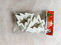 Іграшка новорічна ялинка рамка 3D 10 штук, фото 1
