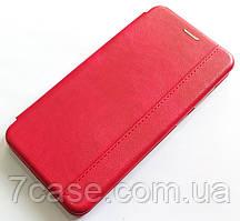 Чехол книжка Momax New для Samsung Galaxy A21s A217F Красный