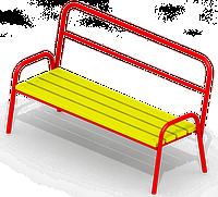 Скамейка для детской площадки KB-D85