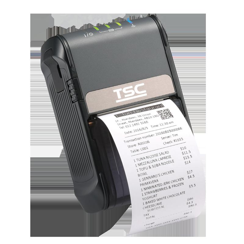 Мобильный принтер этикеток TSC Alpha-2R MFi BT