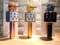 Беспроводной караоке микрофон bluetooth WS858-1 CG01 PR3, фото 3