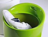 Пуф TWEET зелёный пластиковый с подушкой кожзам AMF, фото 5
