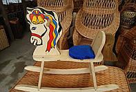 Качалка детская деревянная Лошадка, фото 1