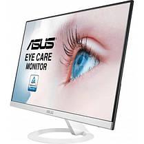 "Монитор Asus 23.8"" VZ249HE-W IPS White; 1920x1080, 5 мс, 250кд/м2, D-Sub, HDMI, фото 3"