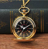 Кварцові кишеньковий годинник на ланцюжку, фото 3