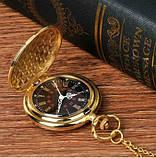 Кварцові кишеньковий годинник на ланцюжку, фото 4