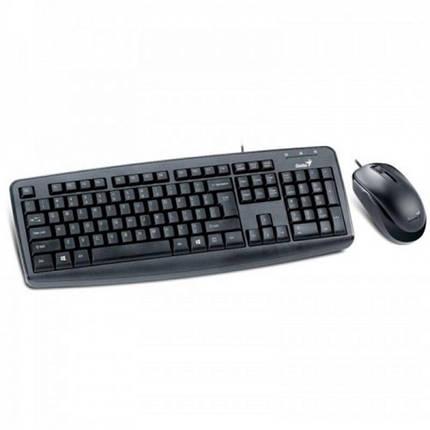 Комплект (клавиатура, мышь) Genius КМ-130 Ukr (31330210115) USB, фото 2