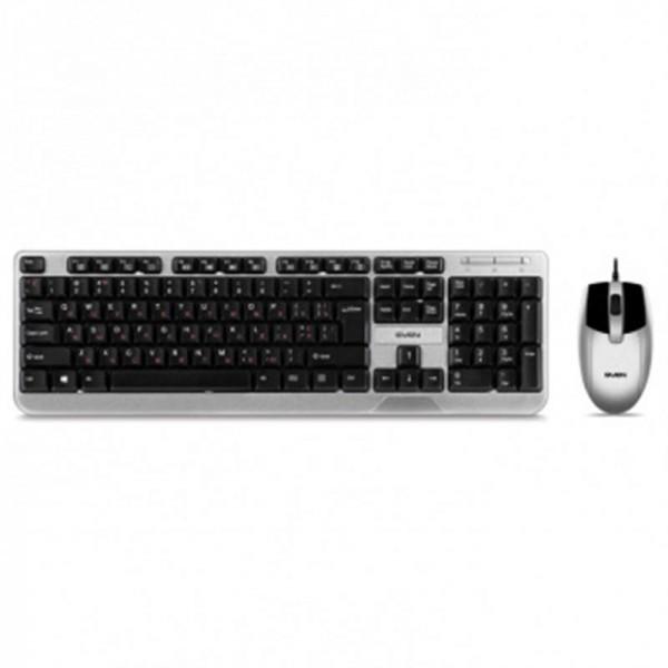 Комплект (клавиатура, мышь) Sven KB-S330C Black USB