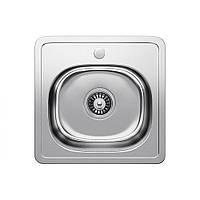Кухонна мийка Fabiano 38х38 мікродекор