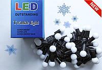 Гирлянда декоративная электрическая,Новогодния электрическия гирлянда ,Световые гирлянды LED