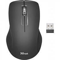 Комплект беспроводной (клавиатура, мышь) Trust Ziva UKR (22119) Black USB, фото 3
