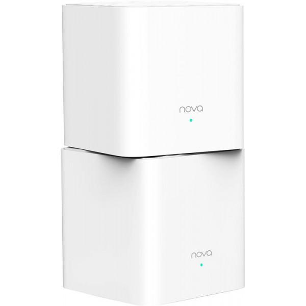 WiFi Mesh система Tenda Nova (MW3-KIT-2) (AC1300, 1xFE WAN, 1xFE LAN, Beamforming, MESH, 2 антенны, 2-pack)