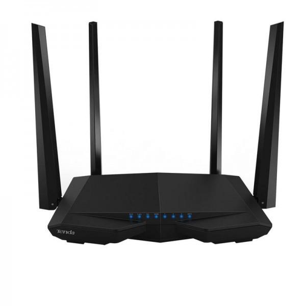Беспроводной маршрутизатор TENDA AC6 (AC1200 1.2Gbps 3xFE LAN, 1xFE WAN,  Smart ,4x5dBi антенны)
