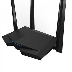 Беспроводной маршрутизатор TENDA AC6 (AC1200 1.2Gbps 3xFE LAN, 1xFE WAN,  Smart ,4x5dBi антенны), фото 2
