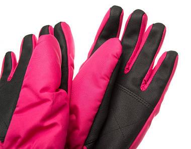 Рукавиці гірськолижні жіночі Viking Jaspis 6 XS Рожевий 46, фото 3