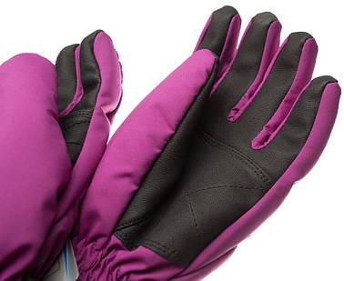 Рукавиці гірськолижні жіночі Viking Jaspis 6 XS Фіолетовий 48, фото 2