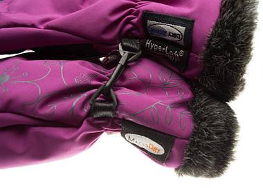 Рукавиці гірськолижні жіночі Viking Jaspis 6 XS Фіолетовий 48, фото 3