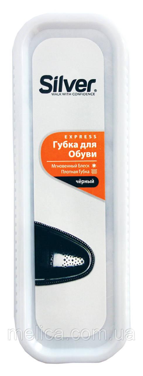 Губка для обуви Silver Express Стандарт Черный - 1 шт.