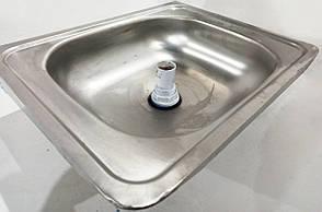 Б/У Мойка кухонная из нержавеющей стали 50х40х13 см, фото 3