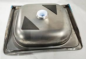 Б/У Мойка кухонная из нержавеющей стали 50х40х13 см, фото 2