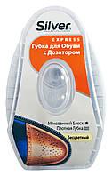 Губка для обуви с дозатором Silver Express Бесцветный - 6 мл.