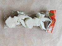 Іграшка новорічна ангел арфа 3D 10 штук, фото 1