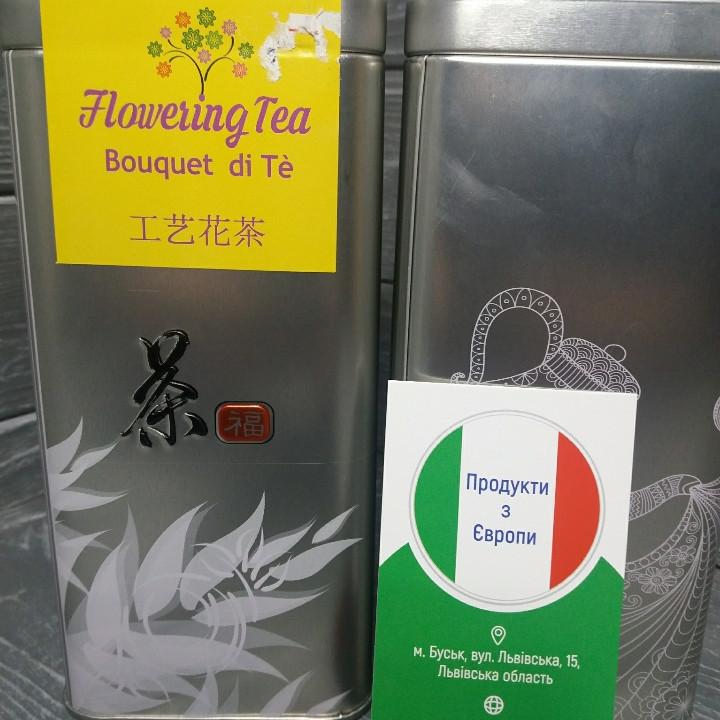 Чай Чайний букет з квітучими чайними квітами