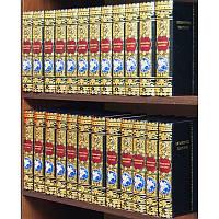 Библиотека Классики в 24-х томах, медь, серебро, эмали, кожа