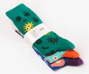 Набор носков Dodo Socks Micro 39-41 3 пары, фото 2