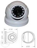Купольная mini AHD видеокамера PV-700AHD
