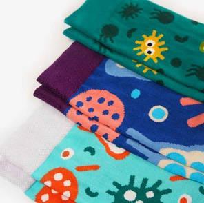 Набор носков Dodo Socks Micro 36-38 3 пары, фото 2