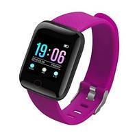 Фитнес браслет iBand B6 Фиолетовый