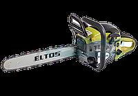 Бензопила Eltos БП-45-4.3 (2 шины  2 цепи, металлический корпус)
