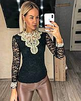 Жіноча блузка Ажурна S-L універсал