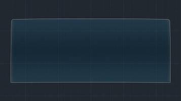 Захисне гібридне скло на монітор 9H LEXUS RC 2015 - 2017