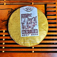 "Шу пуэр ""Menghai golden bud"" фабрика Chun Pu (Чун Пу) 2019 г 100 г, фото 1"