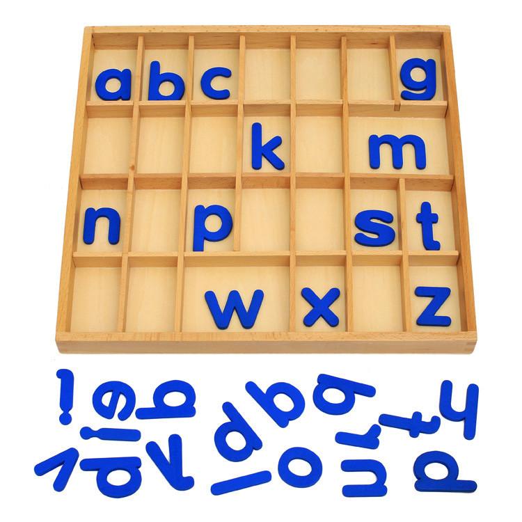 Англ. подвижный деревянный - печатные буквы, деревянная игрушка.