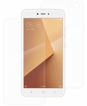 Гідрогелева захисна плівка на Xiaomi Redmi Note 5A на весь екран прозора, фото 2