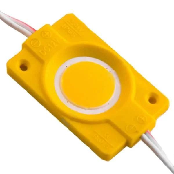 Светодиодный модуль Biom 2,4W COB желтый