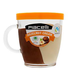 Паста Piacelli Duo, крем какао та горіх, 300 г + горнятко, 6 шт/ящ