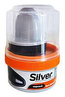 Крем-блеск для обуви Silver Express Черный - 50 мл.