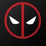 Піньята паперова для свята Дедпул Deadpool піньята форма барабан 40 см * 12 см, фото 4