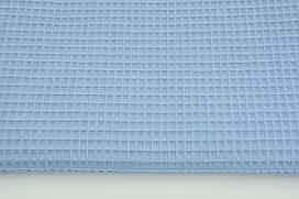 Мягкая Вафелька Темно-голубая 160 см
