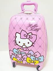 Детский чемодан дорожный Hello Kitty-2