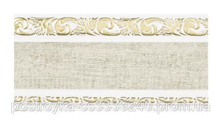 Лента декоративная на карниз, бленда Ажур 3 Кожа 04 70 мм на усиленный потолочный карниз КСМ
