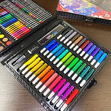Дитячий набір для малювання 150 предметів у зручному кейсі ART SET