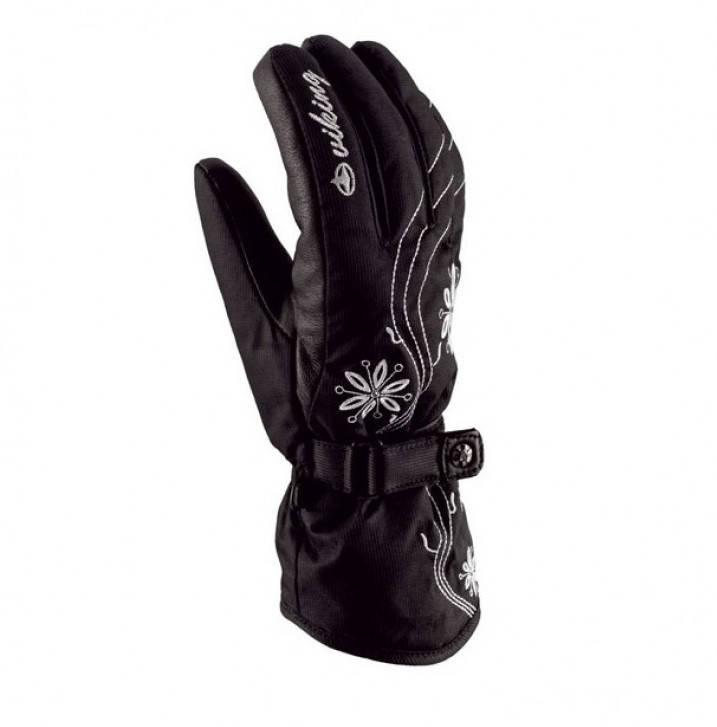Рукавиці гірськолижні жіночі Viking Donna 6 XS Чорний 09, фото 2