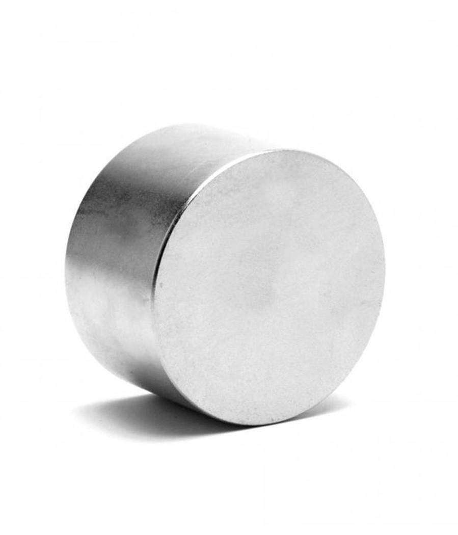 Неодимовый магнит диск (шайба) 45x30 мм