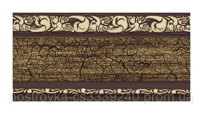 Лента декоративная на карниз, бленда Ажур 3 №12 70 мм на усиленный потолочный карниз КСМ